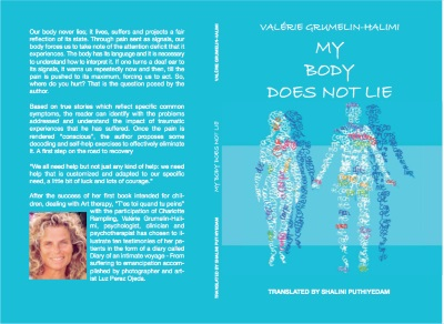 My body does nor lie ouvrage de développement personnel de la psychologue Valérie Grumelin