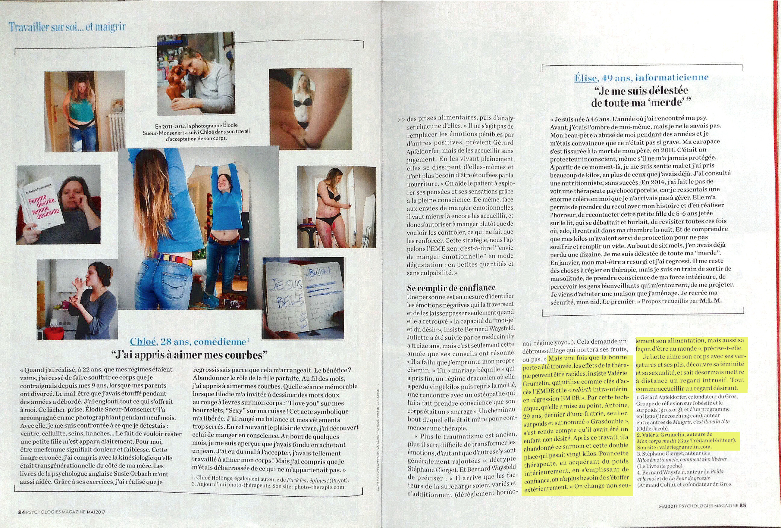 Article Psychologie Magazine Valerie Grumelin Halimi